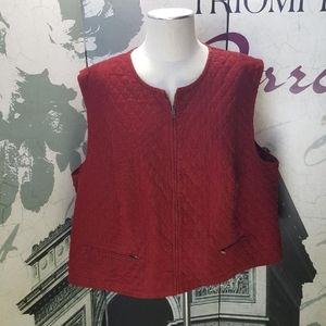 Vintage Pendleton Vest Plus Size 24W